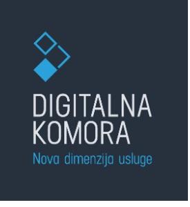 Projekt HGK - portal DIGITALNA KOMORA sa objedinjenim podacima o poduzetnicima